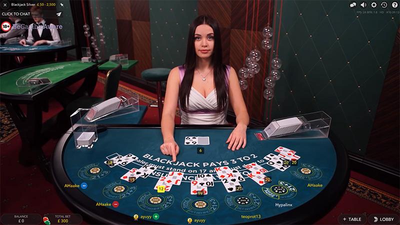 استراتژی بازی Blackjack